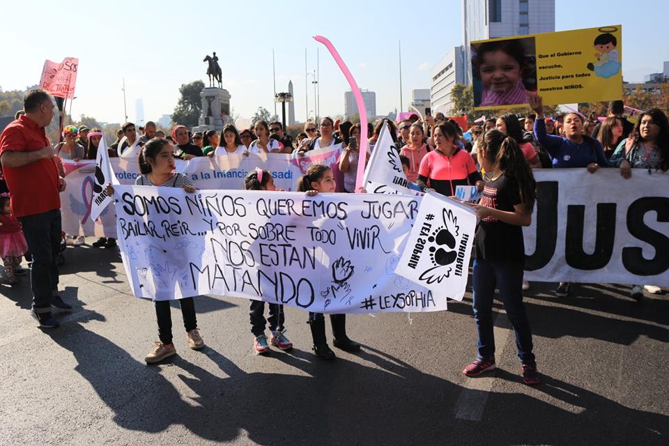 Miles de personas llegaron a la Marcha #PorUnaInfanciaConDerechos